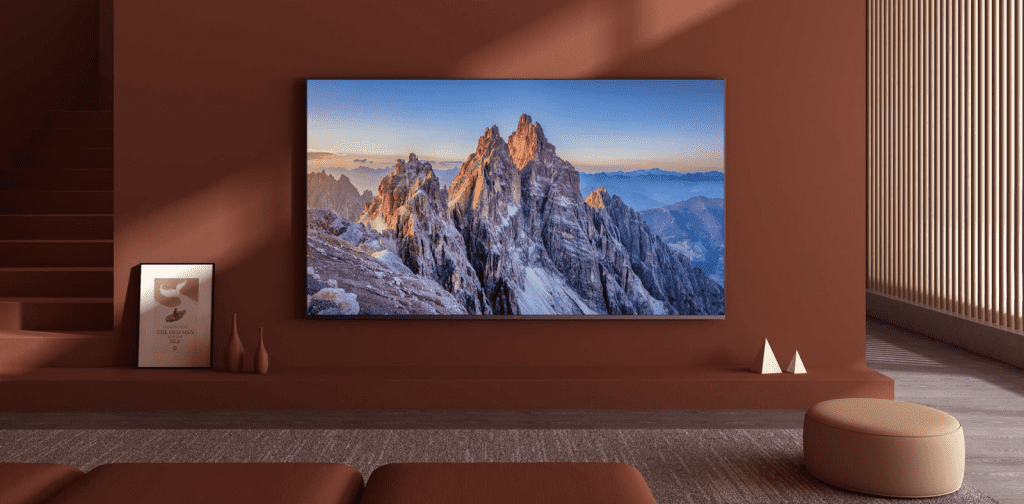 Дизайн телевизора Xiaomi Mi TV All Screen Pro 65""