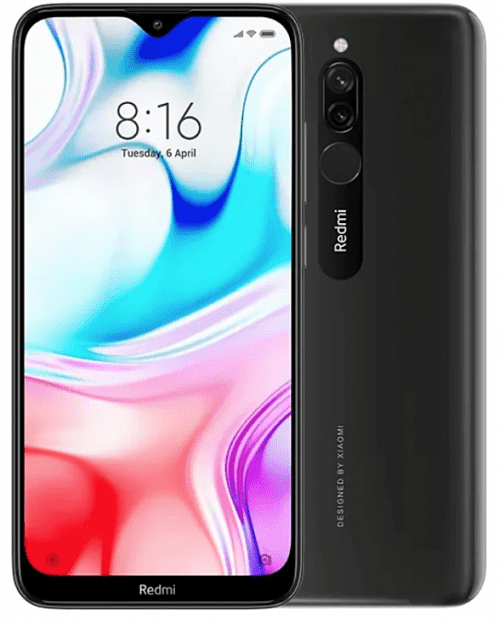 Смартфон Xiaomi Redmi 8 64GB/4GB (Black/Черный)