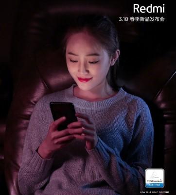 Защищенный экран смартфона Redmi Note 7 Pro