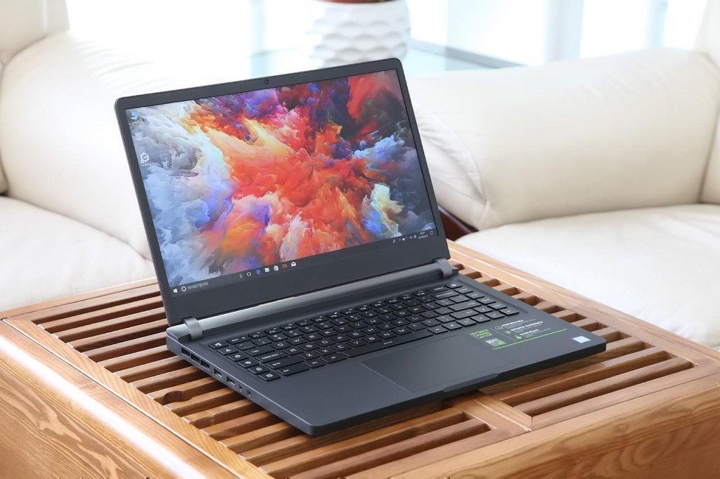 Внешний вид игрового ноутбука Xiaomi Mi Gaming Laptop