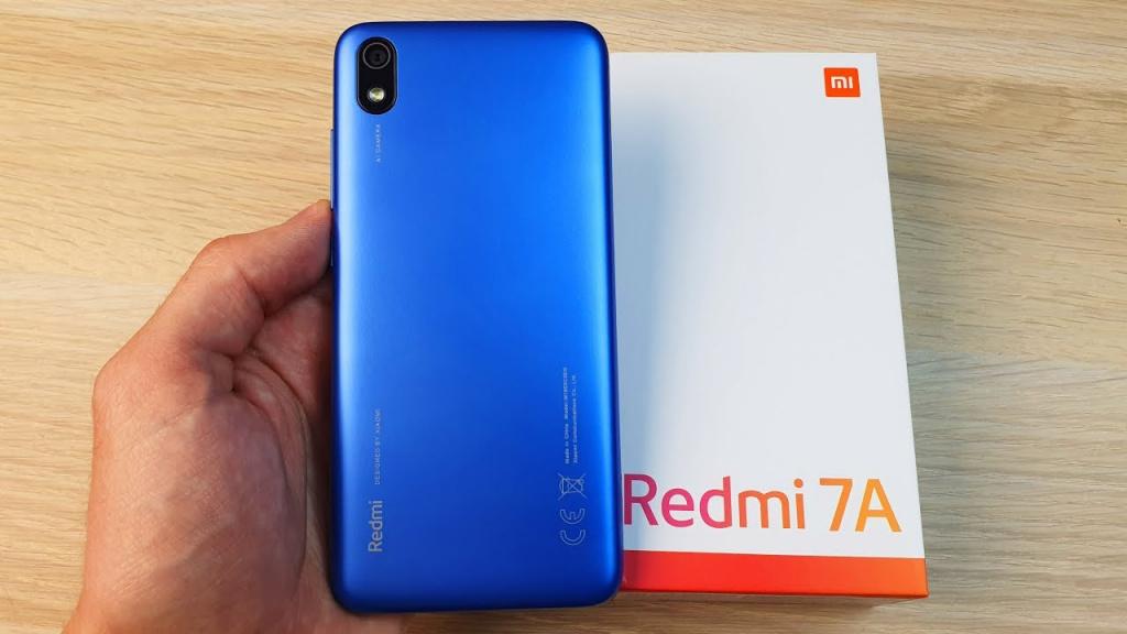 Бюджетный смартфон Xiaomi Redmi 7A