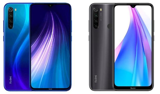 Сравнение внешнего вида телефонов Redmi Note 8 и Note 8T
